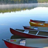 Canoes-on-Goldeye-Lake-portrait